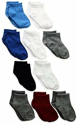 Hanes Baby Toddler Boy Ankle Socks - 10 Pack