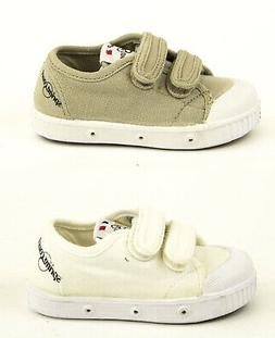 SPRING COURT Toddler Boys Canvas GE1 Velcro Shoes