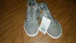 Toddler boys size 7 shoes ~~~~~New~~~~  grey lace up shoes