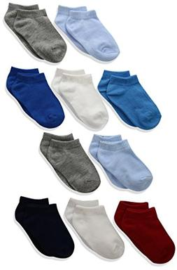 Hanes Baby Toddler Boy Low Cut Socks - 10 Pack
