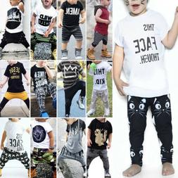 toddler kids baby boys summer casual clothes