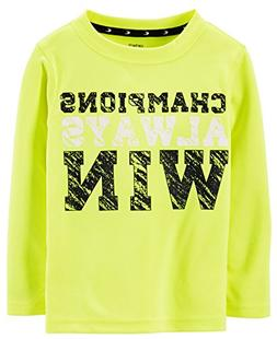 Toddler Boy Carter's Long Sleeve Champions Jersey 4T, Yellow