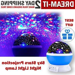 TOYS FOR BOYS 2 10 Year Old Kids LED Night Star Light Conste