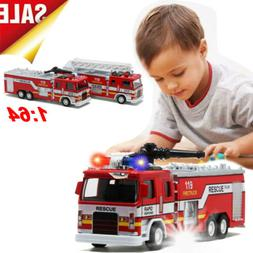 Toys For Boys Kids Children Fire Truck for 3 4 5 6 7 8 9 10