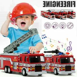 Toys for Boys Education Fire Truck Car 3 4 5 6 7 8 9 Year Ag