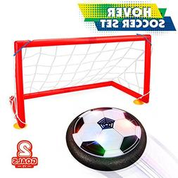 Kids Sports Toys Soccer Football Goal Set Hover Ball with 2