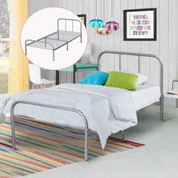 Twin Size Metal Platform Bed Frame Modern Home Bedroom Furni