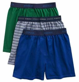 Boys' Hanes Ultimate Solid Knit Boxer with Comfort Flex Wais
