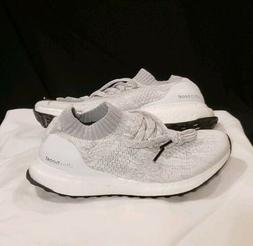 Adidas Ultra Boost Uncaged Triple White Boys Size 5.5 / UK 5