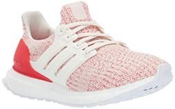 adidas Unisex Ultraboost, Chalk White/Active red, 6.5 M US B