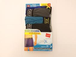 Hanes Underwear X-Temp Boxer Briefs Assorted Colors Small fo