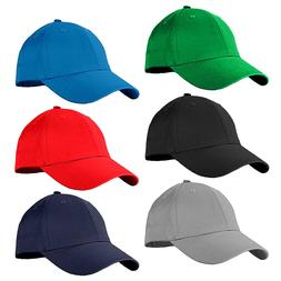 Unisex Baseball Cap Plain Blank Cotton Adjustable Size Cool