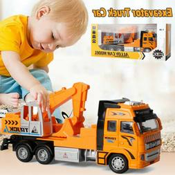 usa toys for boys transporter excavator construction