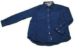 Weatherproof Vintage Long Sleeve Button Front Shirt for Boys