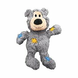 KONG Wild Knots Squeaker Bears for Dogs, Medium/Large, Color