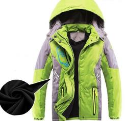 Winter Kids Jacket For Boys Children Outerwear Hooded Thick