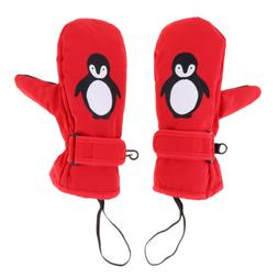 Winter Kids Snow Mittens Waterproof Thermal Ski Gloves for A