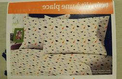 Your Zone Jr. 3 Piece Twin Sheet Set Boys Dinosaurs, NEW