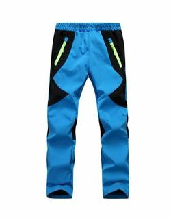 Youth Snow Pants with Reinforced Knees and SeatWarm Climbing