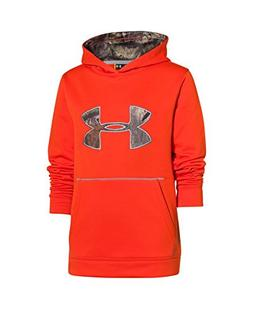 Under Armour Youth Boys' Storm Caliber Hoodie, Toxic, Youth