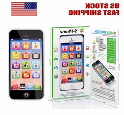 YPhone Mobile Phone Educational Toy Gift For Baby Kids Boys